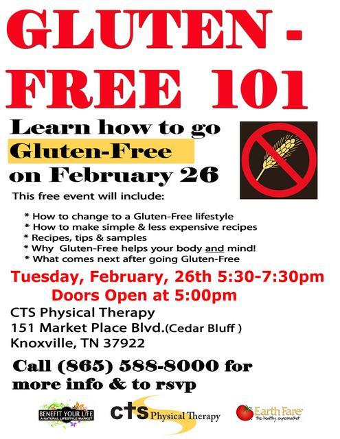 Gluten-Free 101 - Feb2013